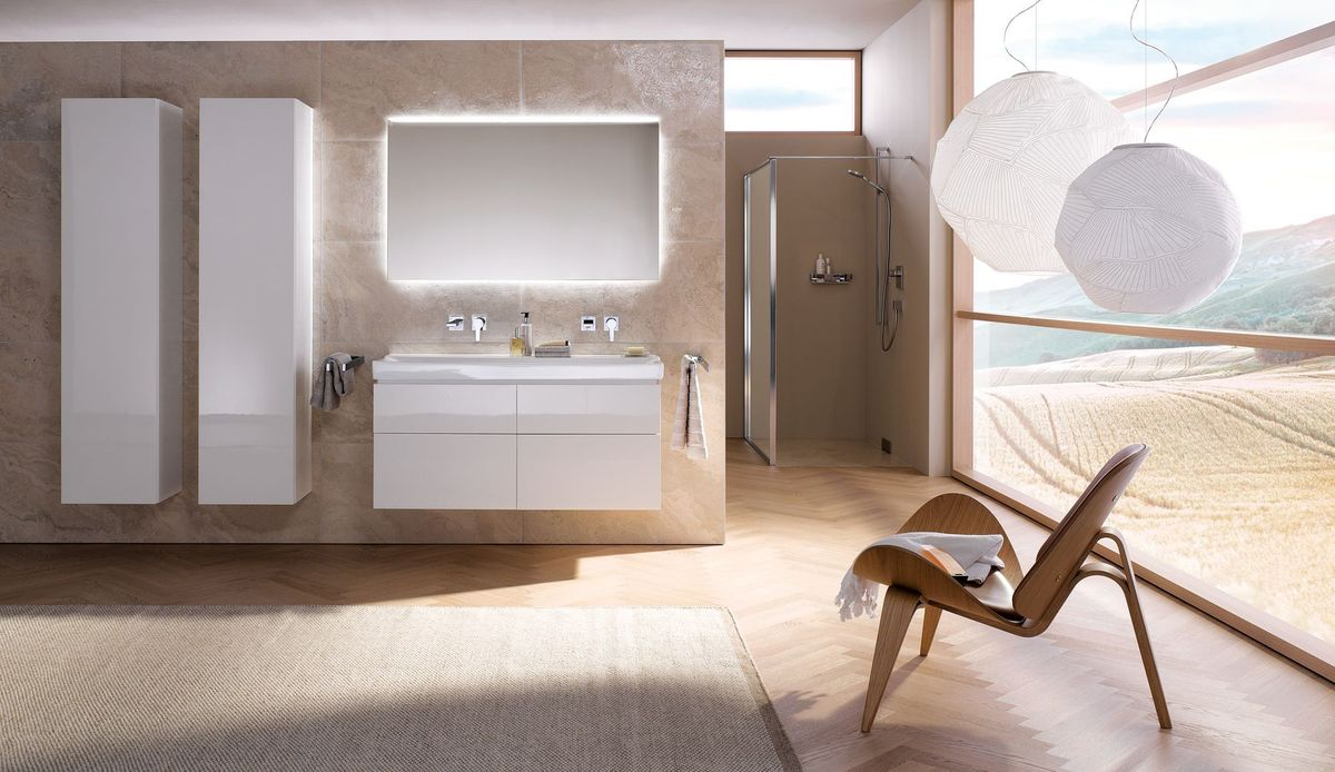 Sanitetsproducent lancerer fem nye badeværelsesserier