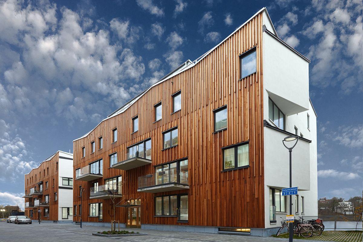 Södras facader af cedertræ bliver smukkere med årene og kræver ingen vedligeholdelse