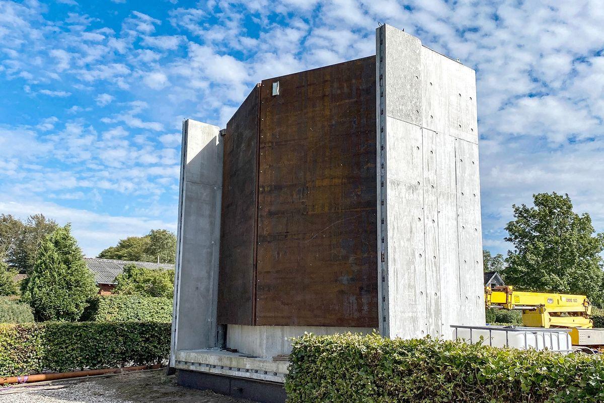 Wintec laver klimatilpasning med dobbelte sluseporte ved Jyllinge