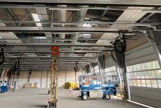 TK Montage er med på nogle af landets største ventilationsopgaver