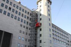 Person- og materialehejs til byggeri i højden
