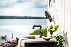 Få et industrielt og rustikt udendørsmiljø med Mora Garden
