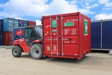Komplet beredskab til byggepladsen samlet i en kompakt container