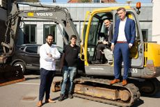 Robotinvestorer bliver medejere af disruption til gravemaskiner