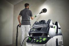 Ny langhalssliber giver store fordele ved væg- og loftslibning