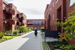 Dynamisk og detaljeret boligbebyggelse med mangfoldig beboersammensætning