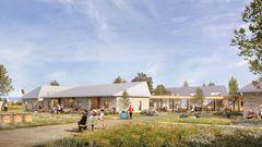 Sweco og Årstiderne Arkitekter designer kombineret plejecenter og børnehave