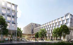 C.F. Møller og HENN vinder konkurrence om hospitalscampus i München