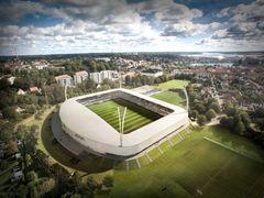 Kolding IFs fremtidige stadion af Årstiderne Arkitekter