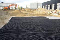 Fleksibel regnvandskassette fra Expo-Net giver større udsivningsareal