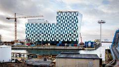 Højteknologisk kontorbygning forvandler den gamle havn i Helsingborg