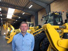 Komatsu-ekspert skal sælge Komatsu på Sjælland