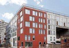 Fra almindelig gips til fibergips i Nordhavns første almene boligbyggeri