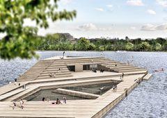 MT Højgaard og Spektrum Arkitekter skal bygge Skanderborg Søbad
