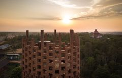 Brick Observation Tower af Bangkok Project Studio