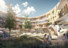 RUM og Sophienberg Gruppen vinder byudviklingskonkurrencen om Kokkedal Stationsområde