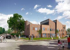 C.F. Møller vinder konkurrence om udbygning af Klostermarksskolen
