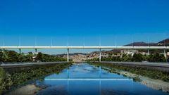 Megabro i Genova er bygget på to år af Cityring-entreprenør