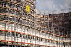 Så blev det byggebranchens tur: Stort fald i byggebeskæftigelsen