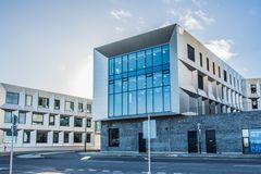 Vink Plast-facadeplader giver Middelfart Rådhus et helt særligt look