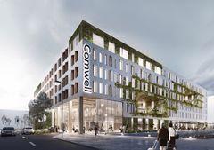 Nordhavns grønne hotel tager form