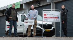 Ny Karl D. Petersen-afdeling i Aabenraa skal sikre fortsat vækst
