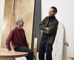 Portræt af Anton Bak og Joakim Tolf Vulpius