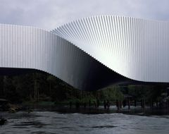 The Twist fra BIG bygger bro mellem kunst og natur i Kistefos skulpturpark