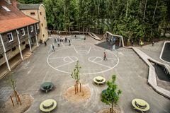 VEGA Landskab om Skørping Skole: En invitation til bevægelse