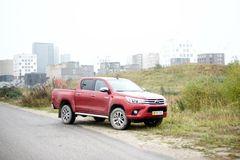 Toyota: En arbejdsbil til de store byggepladser
