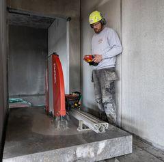 Trekantens Diamantskæring: Specialister i boring og skæring i beton