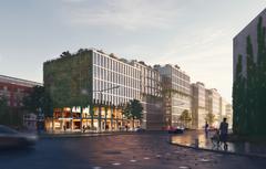Tegnestuen ADEPT vinder et af Tysklands største træbyggerier