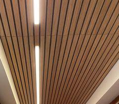 Indbygget lys i lamel-lofter
