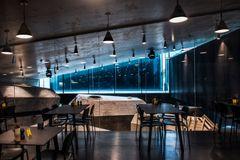 Samspil mellem lys og mørke fortæller historien om Tirpitz Museet