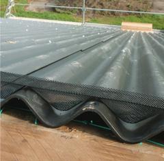 Ventilation af tagrum: Plastnet fremstillet i genanvendeligt plast