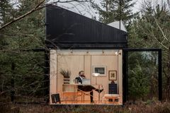 Hjemmekontoret eller et ekstra værelse i haven