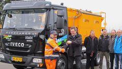 Danmarks første gasdrevne lastbil er nu på farten