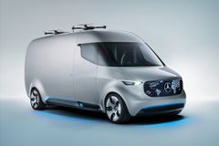 Fremtidens varebil fra Mercedes
