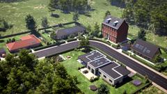 Virtuelle huse bygget i UNITY game engine skal give indtryk af lyset
