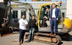 Stærke robotinvestorer bliver medejere af disruption til gravemaskiner