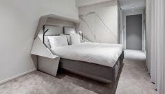 Storformatfliser fra Flise Bent balancerer Hotel Herman K's brutalisme