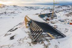 Hårdfør klimaskærm skal beskytte Ilulissat Isfjordcenter