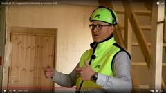 Tag med på byggepladsbesøg på to-etagers CLT-byggeri