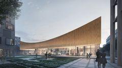 Dansk arkitekt står bag co2-neutralt museum i Sverige
