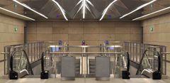 SafeExIT flugtvejsskilte på de nye Cityringen metrostationer