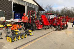 NCC og LOXAM afprøver eldrevne maskiner på stort renoveringsprojekt