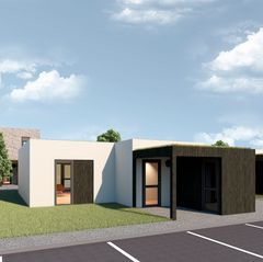 Concept Living by ABC bygger præfabrikerede, svanemærkede rækkehuse