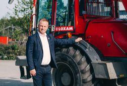 Frank Larsen fra LOXAM fejrer 25 års jubilæum