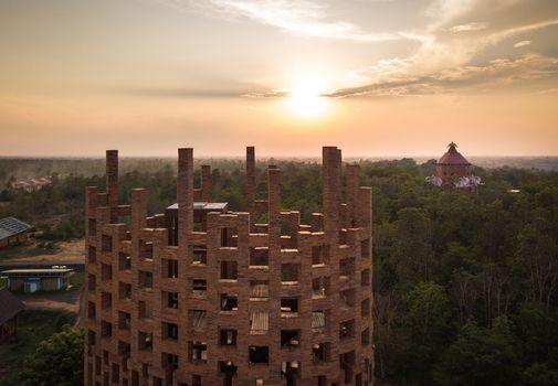 Brick Observation Tower af Bangkok Project Studio