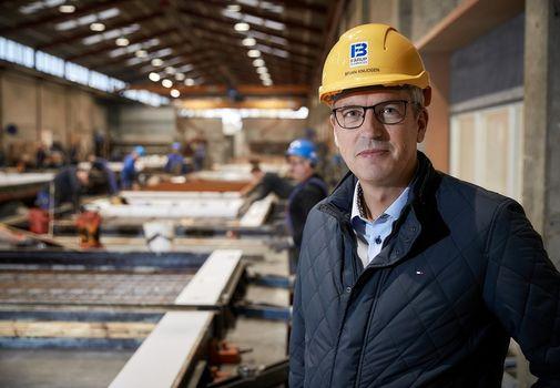 Bæredygtigt pap kan erstatte træ i betonindustrien